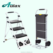 Convenient 2 wheels climbing stairs wheel for hand trolley