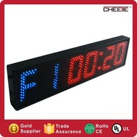 Hot High Quality & Accuracy 6 Digit Hot Sports Fitness LED Digital Clock