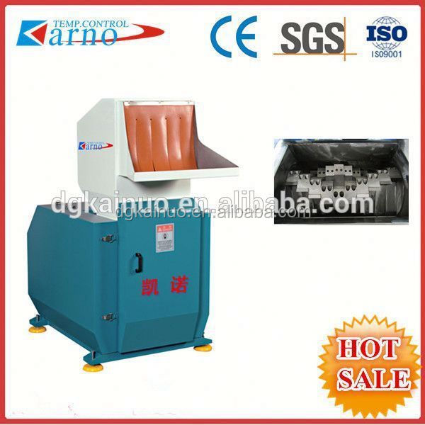 hard soft pvc plastic crusher/shredder/waste plastic crusher recycling machine small crusher