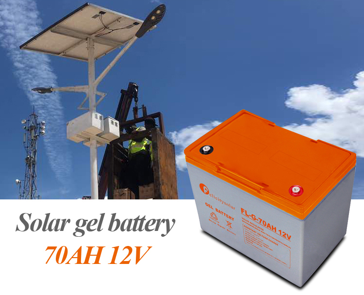 battery for solar energy