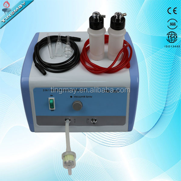 spray tan machine Vacuum suction facial treatment skin rejuvenaiton machine