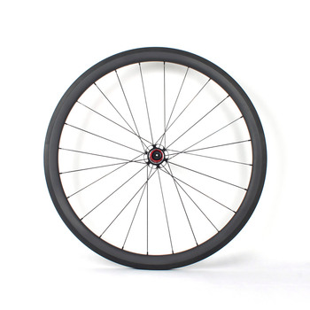 China Wheelset 700C Carbon Road Bike Wheels Clincher Wheels with AERO Carbon Spokes