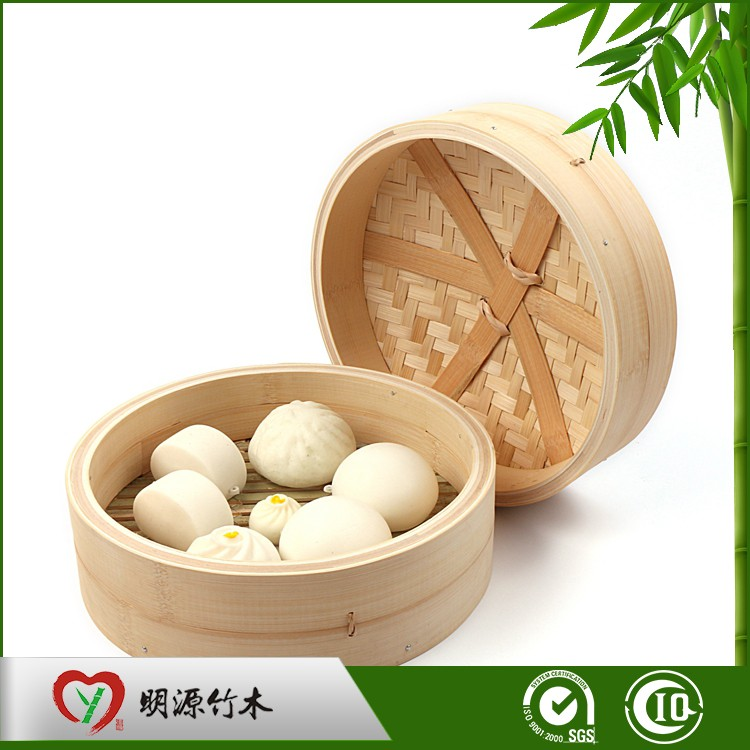 commercial bun food moso bamboo steamer
