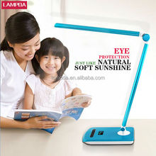 Lampda provide lovely ccfl student desk lamp with protecting eye sight