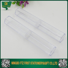Long Hexagon Plastic Clear Pen Box For Single Pen Packing