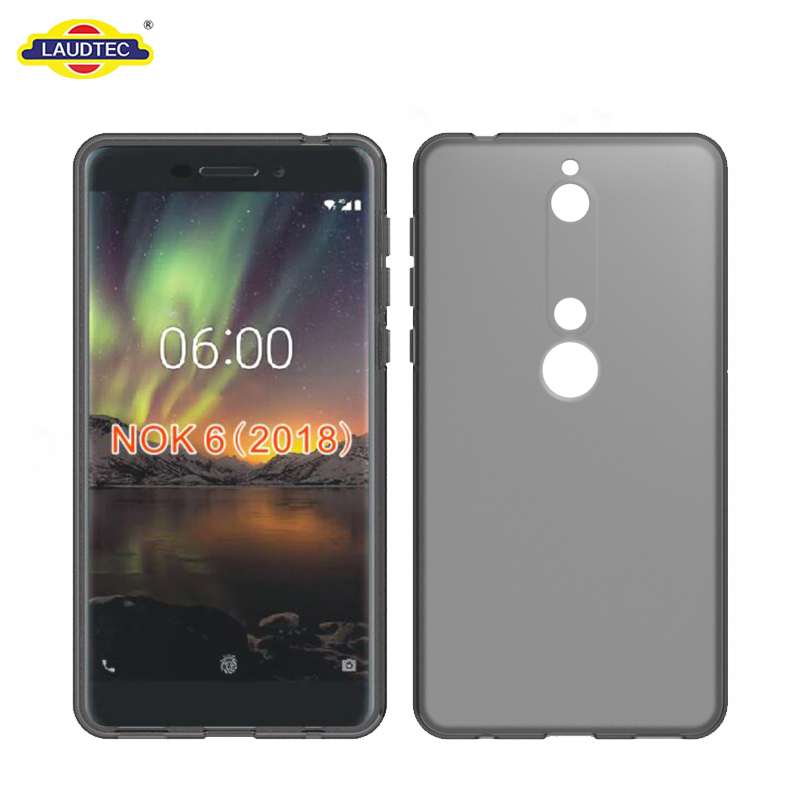 Silicone Cover Soft TPU Gel Case Cover for Nokia 6 Phone Case