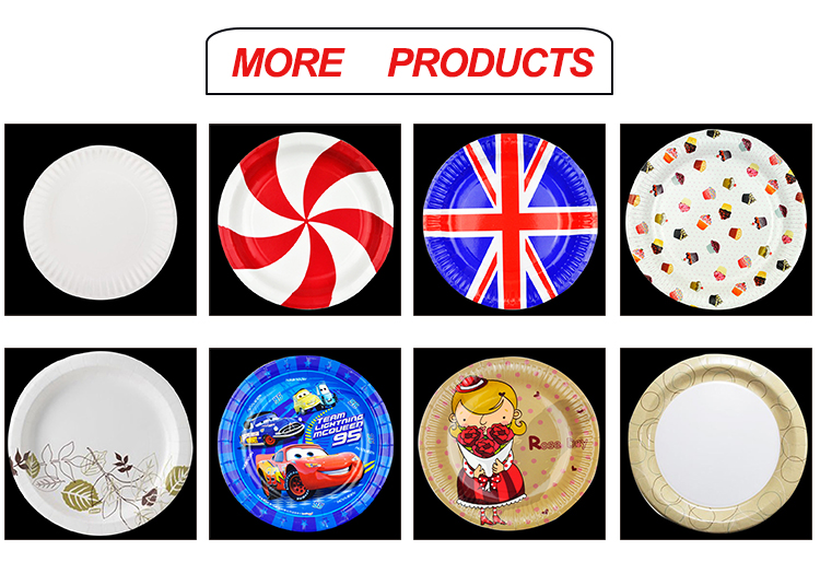 China wholesale customize paper plate manufacturers usa