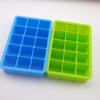 15 Cavity Small Square shaped freezer tray Silicone ice cube tray for whisky