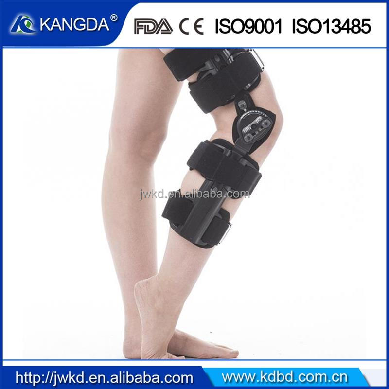 Kangda Adjustable knee orthosis Brace knee support brace Manufacturer CE FDA ISO approved