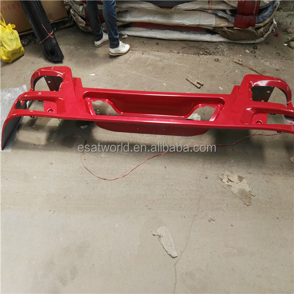 high quality howo truck part metal bumper wg1642241021 for sinotruk howo 10 model