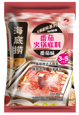 Good quality and new flavor tomato flavor dry pot not spicy seafood condiments