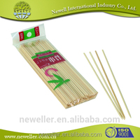 2014 Nature white bamboo flag sticks bamboo sticks for skewer barbecue fruit wholesale