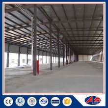 portal frame metal steel structure for workshop for sale