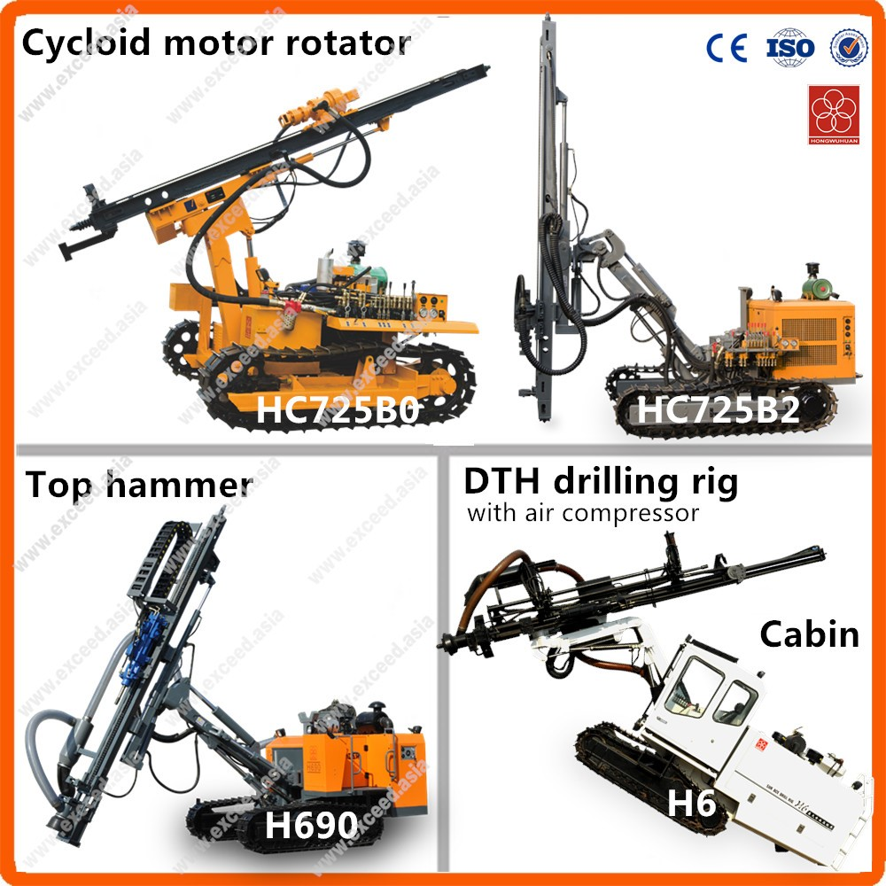 Top 3 brand Hongwuhuan & Kaishan & Exceed china drilling rig