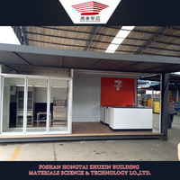 Steel Structure Prefab Mobile Food Store