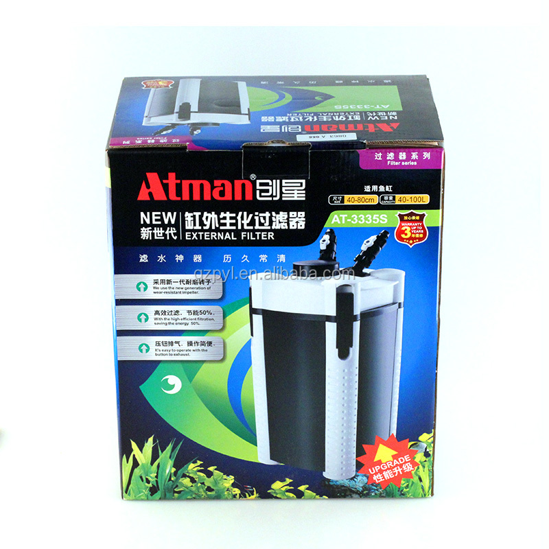 ATMAN AT-3338S External filter drum, external filter for aquarium cylinder