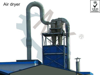 ISO Corn Starch/Crystalline Glucose Air Flash Dryer
