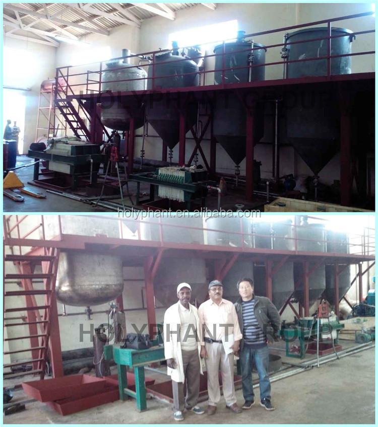 Sunflower Oil Production Plant