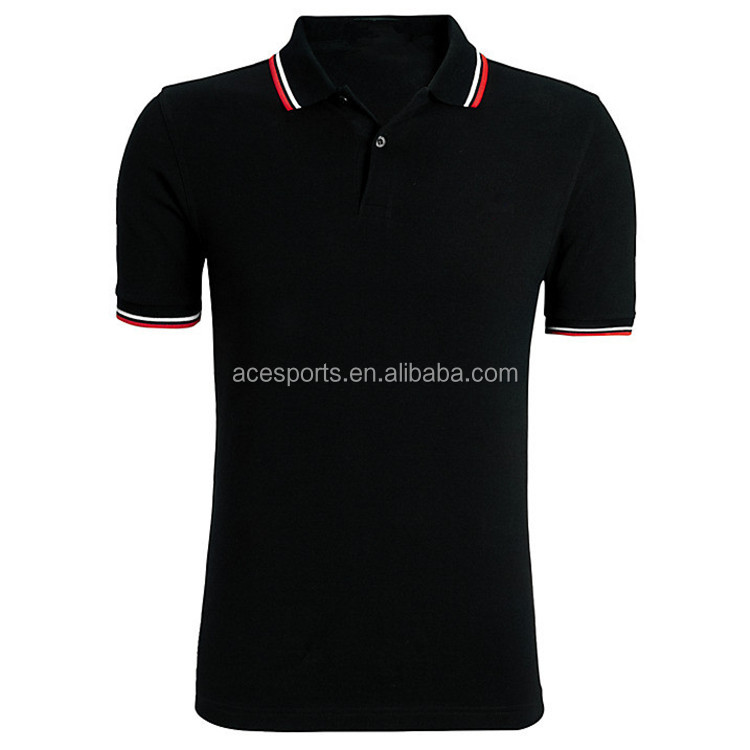 2017 Wholesale China online shopping factory manufacture plain blank custom polo t shirt with 100% cotton man's polo shirt
