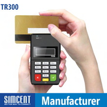 Bluetooth emv MPOS credit card swipe machine