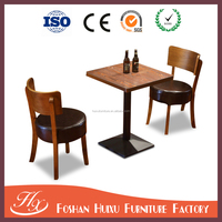 Simple table solid wood square table the cafe tables and chairs for home and restaurant