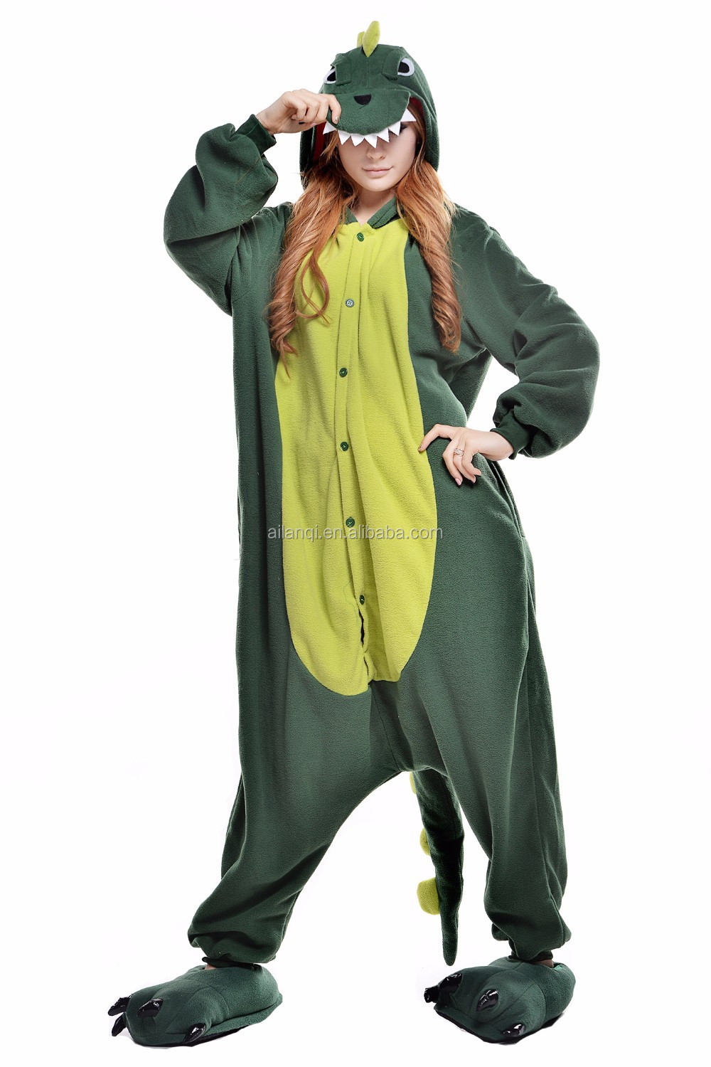 Wholesale Polar Fleece cosplay Animal Costume for Adults