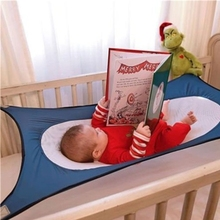 2018 Trending amazon best sale washable detachable folding adjustable breathable baby cradle baby crib swing hammock
