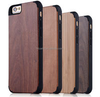 new products wood pc case for iPhone 6, for iPhone 6 wood case pc case
