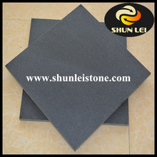 Chine popular black basalt wall tile, black basalt cubes,natural basalt stone