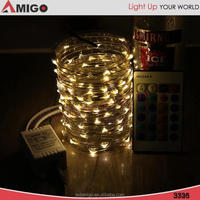 Colorful 3M 30lights led string lights at home depot with Battery