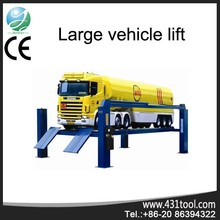 heavy lift 4 post truck hoist CWHD12-W 12Ton