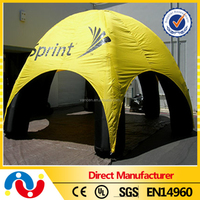 China supplier high quality PVC tarpaulin inflatable beach sun shade tent
