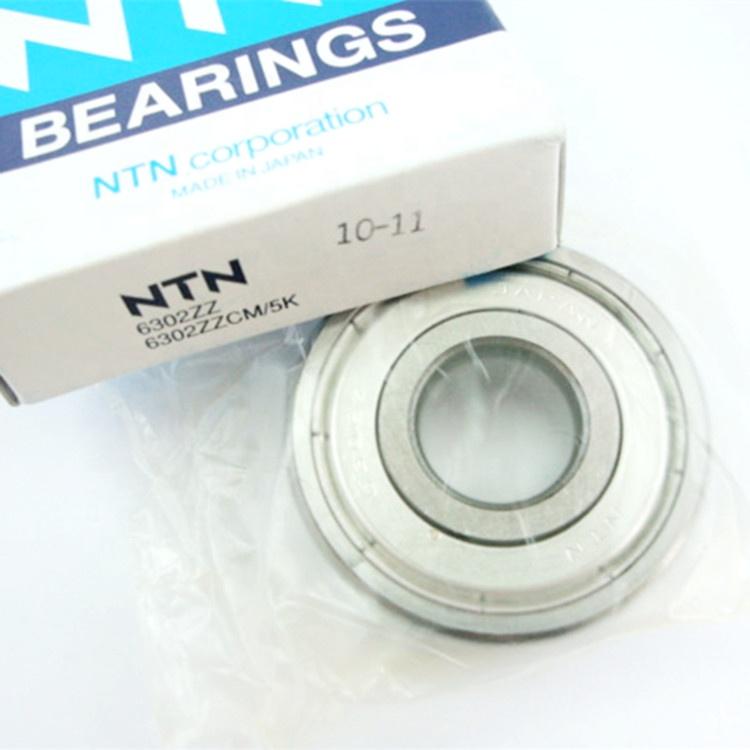 NTN water pump bearing 6302ZZ engine main bearing 6302  engine bearing