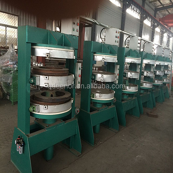Bicycle Tire Vulcanizing Press / Motorcycle Tyre Molding Machine