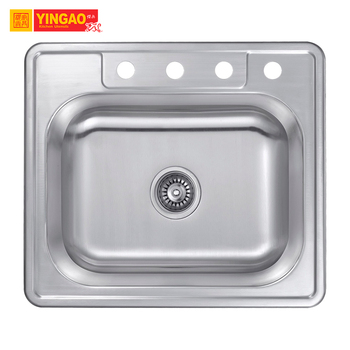 Special Style Unique Custom Size CUPC SUS 304 Sinks Big Bowl Kitchen Corner Sink