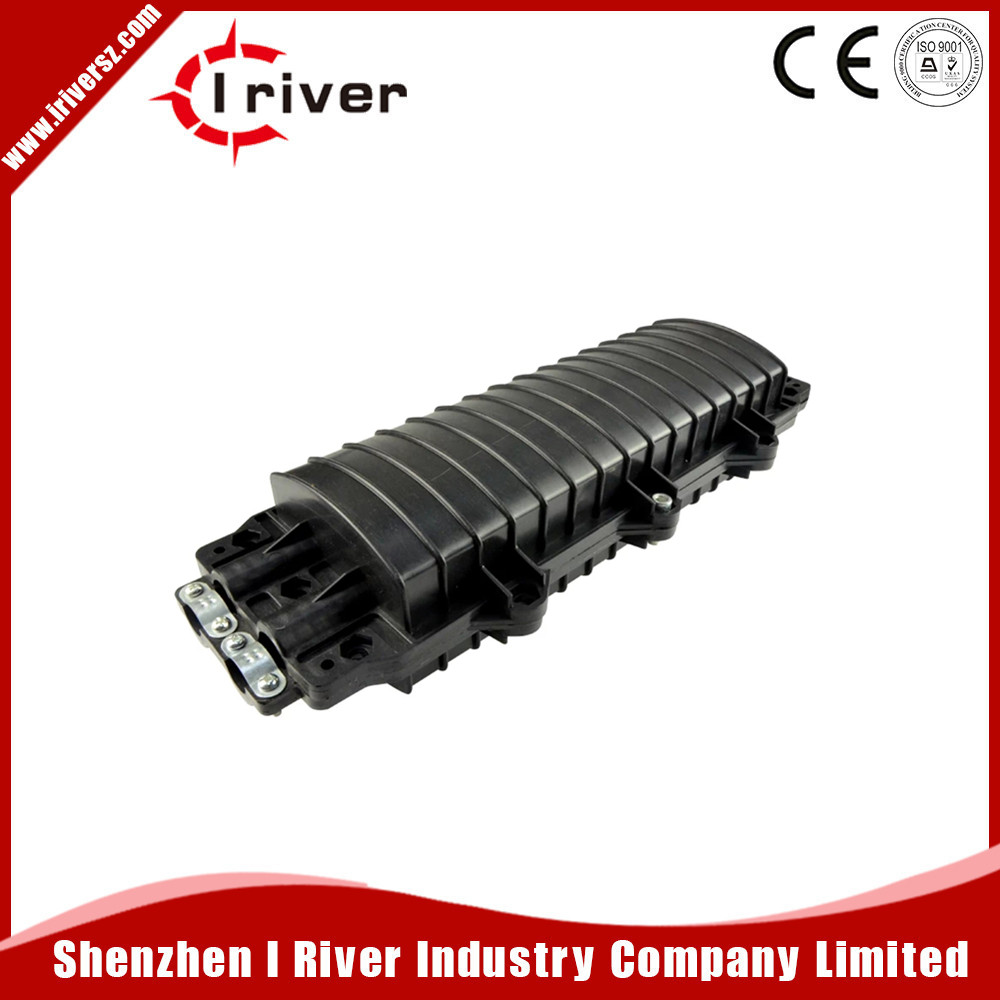 12.24.48 Cores mini Fiber Optical D Type Splice Closure,2 in 2 Out--For FTTH Project