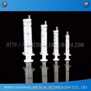 reasonable price disposable 5ml 2-part syringe
