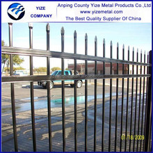 cheap wrought iron garden fence / metal iron fence for sales