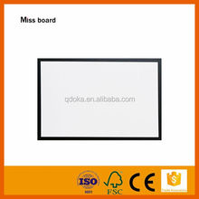 high quality strong magnetic black frame thin white board