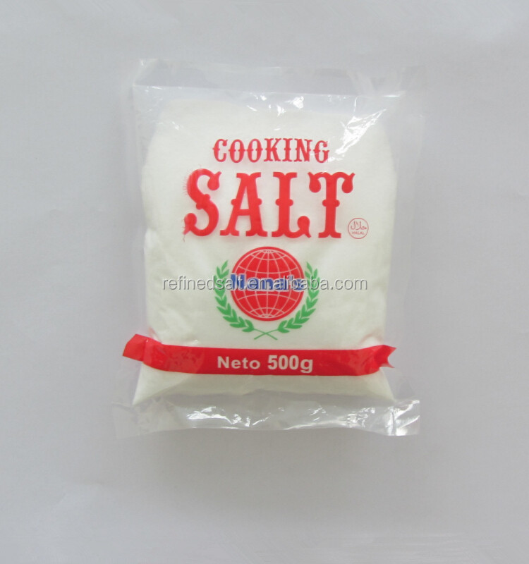 high qualified refined edible rock salt food grade