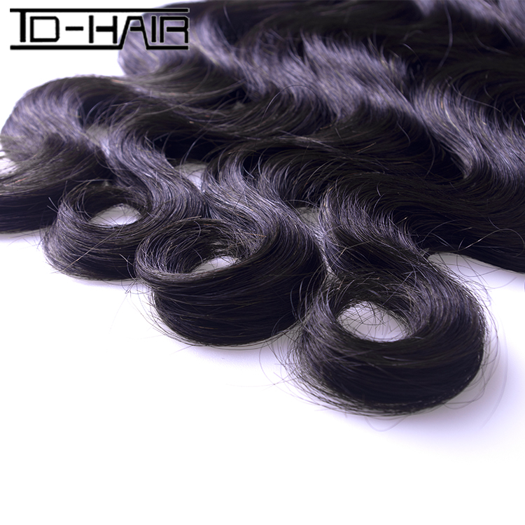 Free Shipping Human Hair Extension brazilian Virgin Hair Body Wave 9A Unprocessed Virgin Hair 3pcs/lot Natural color