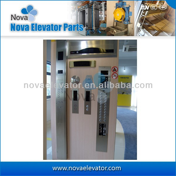Customized Elevator Car Operation Panel, Elevator Landing Operation Panel, Elevator COP and LOP