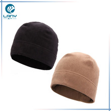 high quality polar fleece beanie hat wholesale knitted cloche winter hat