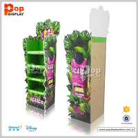 Cardboard Advertising Display Stands for Tin Display Monster Energy Drink Display Stand
