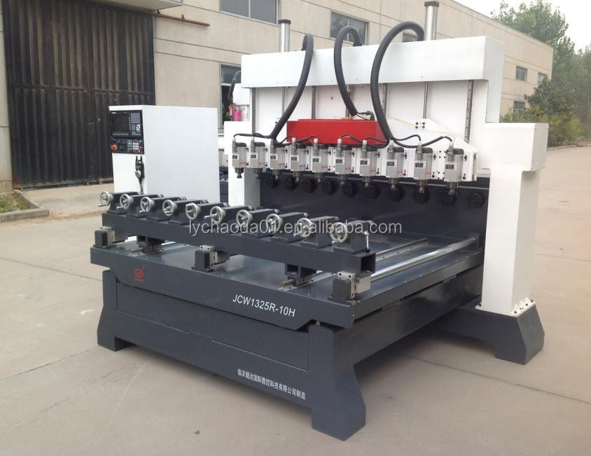 Factory supplier !! 4 axis multi spindle rotary cnc router / CNC wood carving machine for sofa legs furniture sculpture