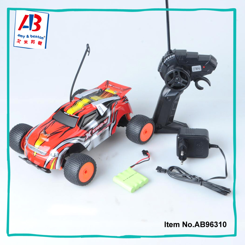Radio control toys 27Mhz 1:18 scale 4 CH rc off road racing car