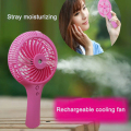 Electric outdoor summer portable handy fan rechargeable mini usb fan