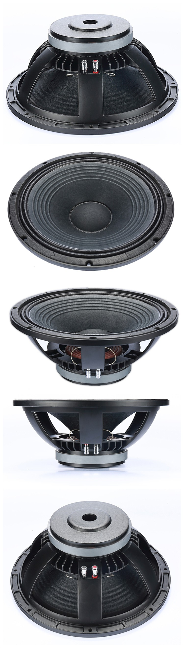 "Harga 15 inch full range dj equipment long throw real sound woofer for empty speaker box 15"" wholesale china oem factory price"