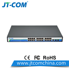 24 Ports Gigabit Layer 2 managed Network Switch Ethernet Switch