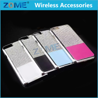 Slim Snap On Bling Electroplating Rugged Hard Cell Phone Back Covers Cases For iPhone 6S